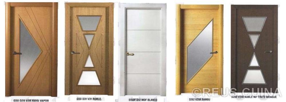 Reuscuina for Modelos de puertas de bano de madera