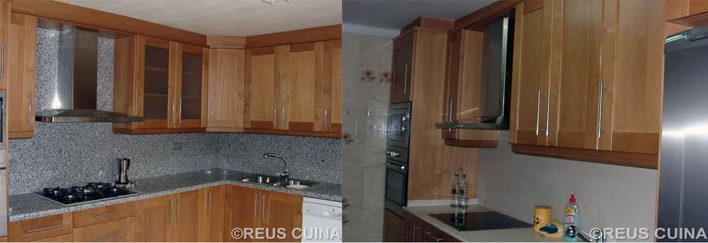 Reuscuina for Muebles de cocina hasta el techo